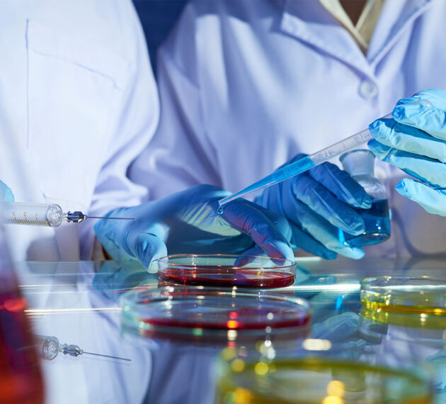 Manipulation en laboratoire