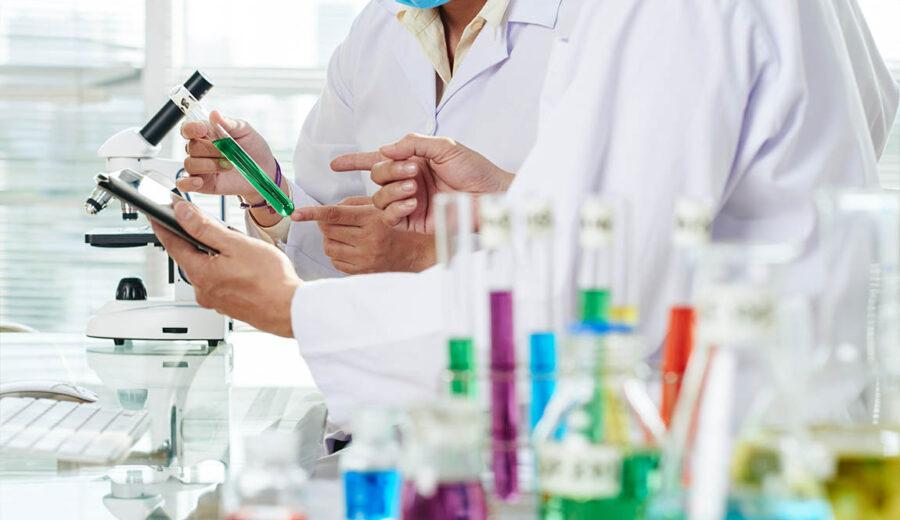 Expérience en laboratoire