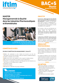fiche formation Master IFTLM