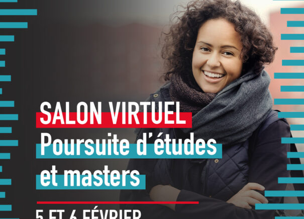 Affiche salon virtuel des Masters